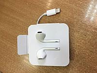 Оригинальные наушники Apple EarPods для iPhone 5/5s/SE/6s/6Plus/7/7Plus/8/X с разъёмом Lightning