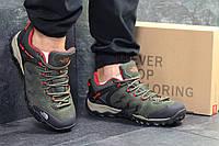 Кроссовки мужские в стиле The North Face код товара SD1-6259. Темно-зеленые