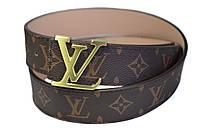 Модный кожаный ремень в стиле Louis Vuitton