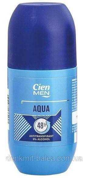 Дезодорант шариковый Cien Aqua men Deo Antitranspirant 50 мл