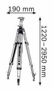 Штатив Bosch BT 300 HD, фото 2