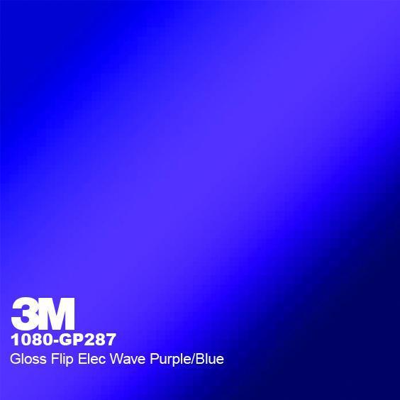 3M 1080 Gloss Flip Electric Wave GP287
