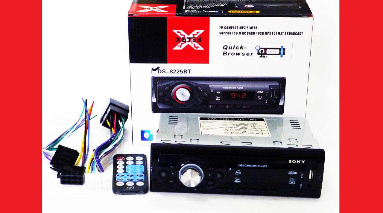 Автомагнітола Sony 8225BT ISO Bluetooth+MP3+FM+USB+SD+AUX
