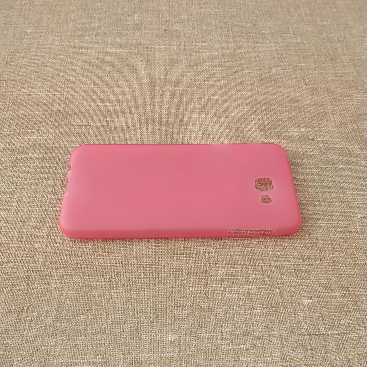 Чехлы для Galaxy J Prime Series TPU Samsung J5 G570 pink (J530) 2017