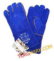 Сварочные спилковые перчатки (краги) DOLONI с подкладкой