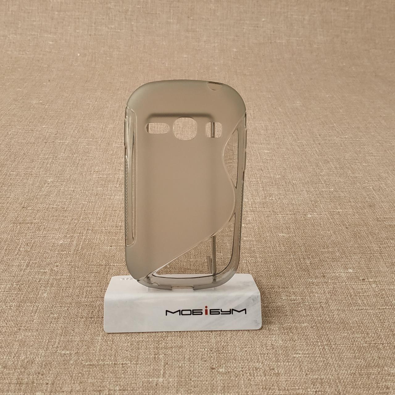 Чехол TPU Duotone Samsung Galaxy Fame [S6810] grey