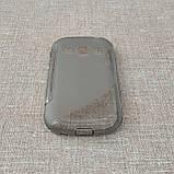 Чехол TPU Duotone Samsung Galaxy Fame [S6810] grey, фото 3