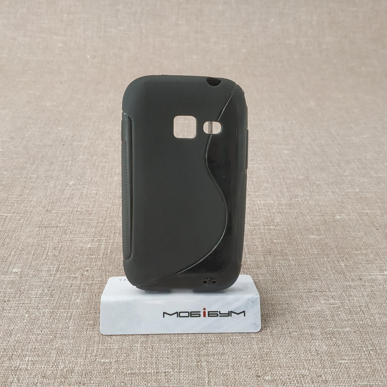 Чехол TPU Duotone Samsung S6802 black
