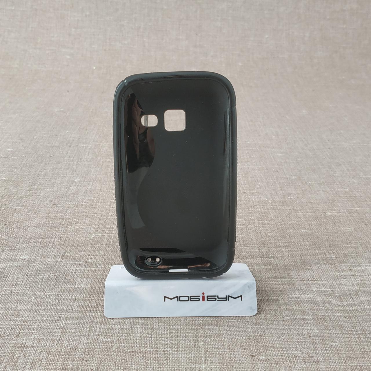 TPU Duotone Samsung S6802 black Galaxy Ace Duos (S6802) Для телефона