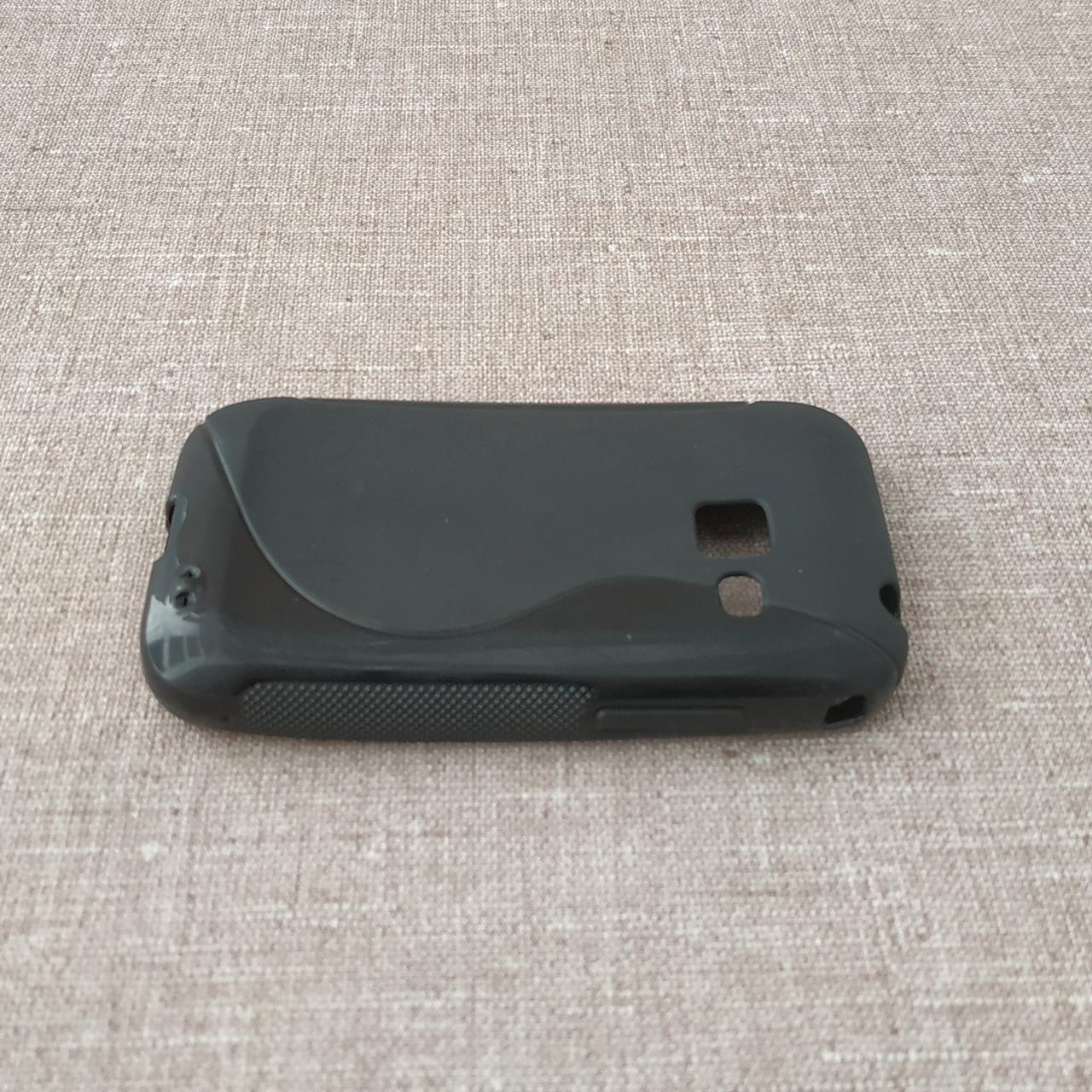 Чехол TPU Duotone Samsung S6802 black Galaxy Ace Duos (S6802)