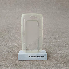 Чехол TPU Duotone Samsung Galaxy W i8150 transparent, фото 2
