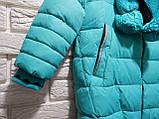 """Куртка-пальто зимнее для девочки """"Эмели"""", фото 3"""