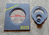 Плита чавунна (370х410 мм) печі, грубу, барбекю, мангал, котли, фото 2