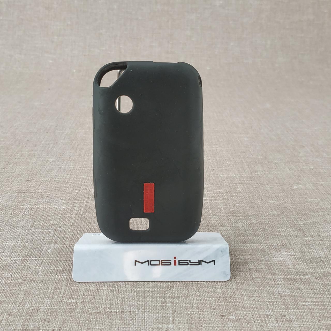 Чехол Silicon Samsung E2652 black