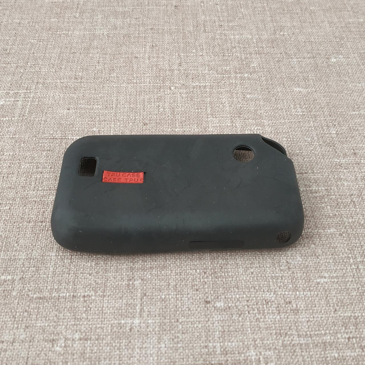 Чехлы для Galaxy других серий Silicon Samsung E2652 black Champ Duos (E2652) Для телефона