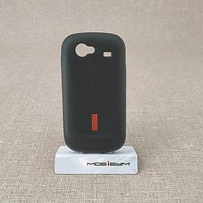 Чехол Silicon Samsung i9020 black, фото 2