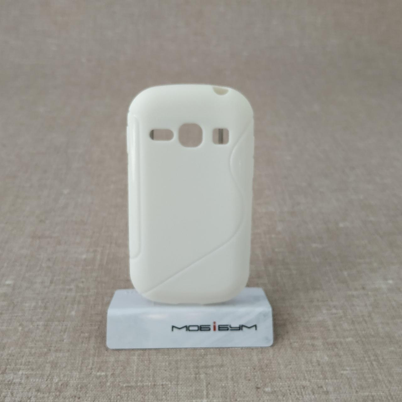 Чехол TPU Duotone Samsung Galaxy Fame [S6810] white