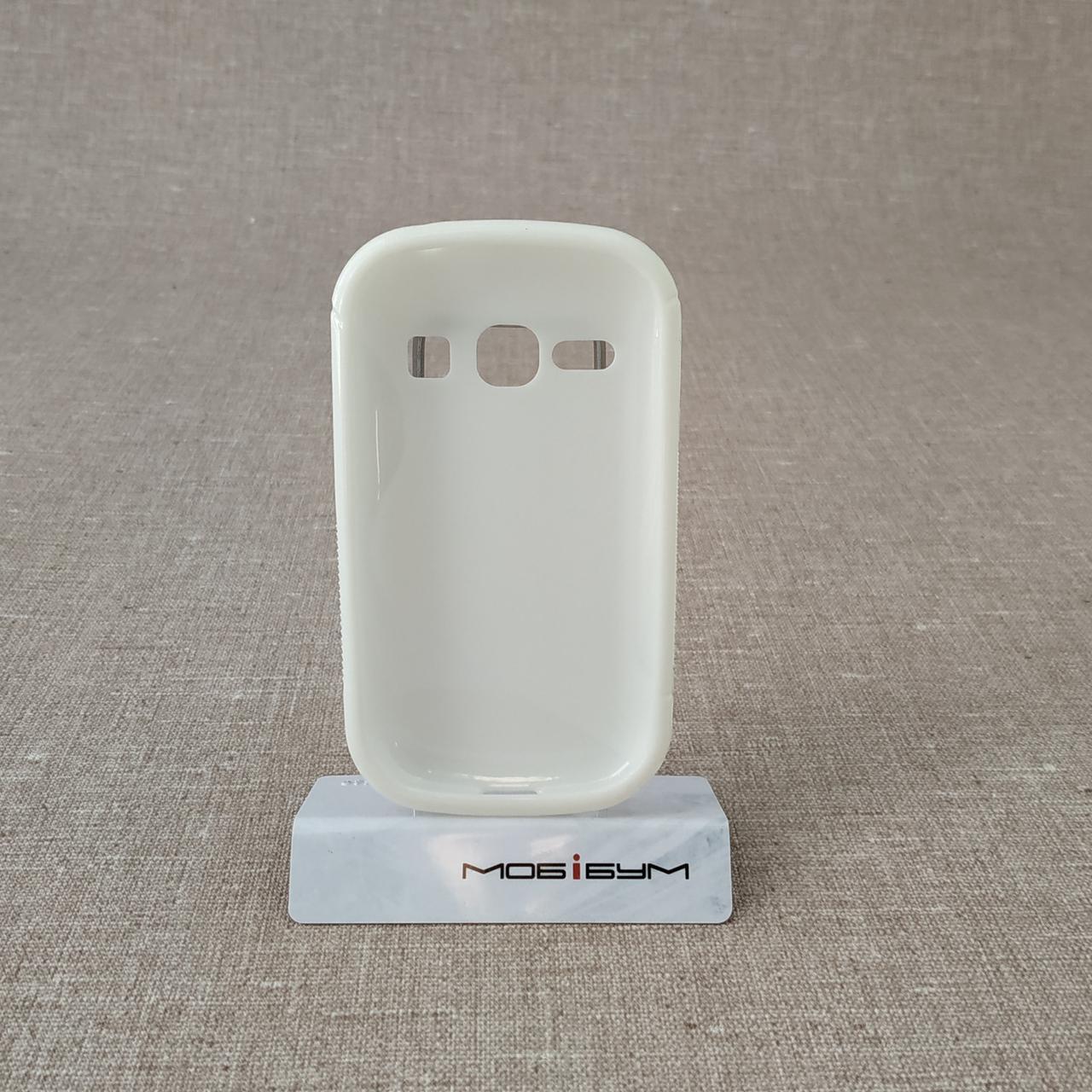 Чехлы для Galaxy других серий TPU Duotone Samsung Fame white (S6810) Для телефона