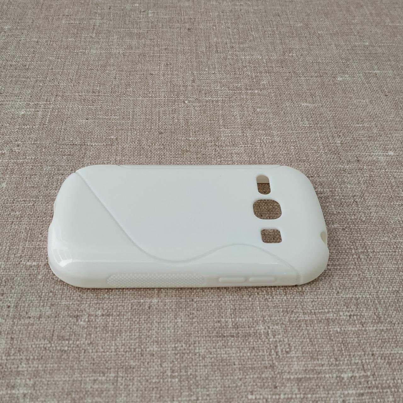 TPU Duotone Samsung Galaxy Fame white (S6810)