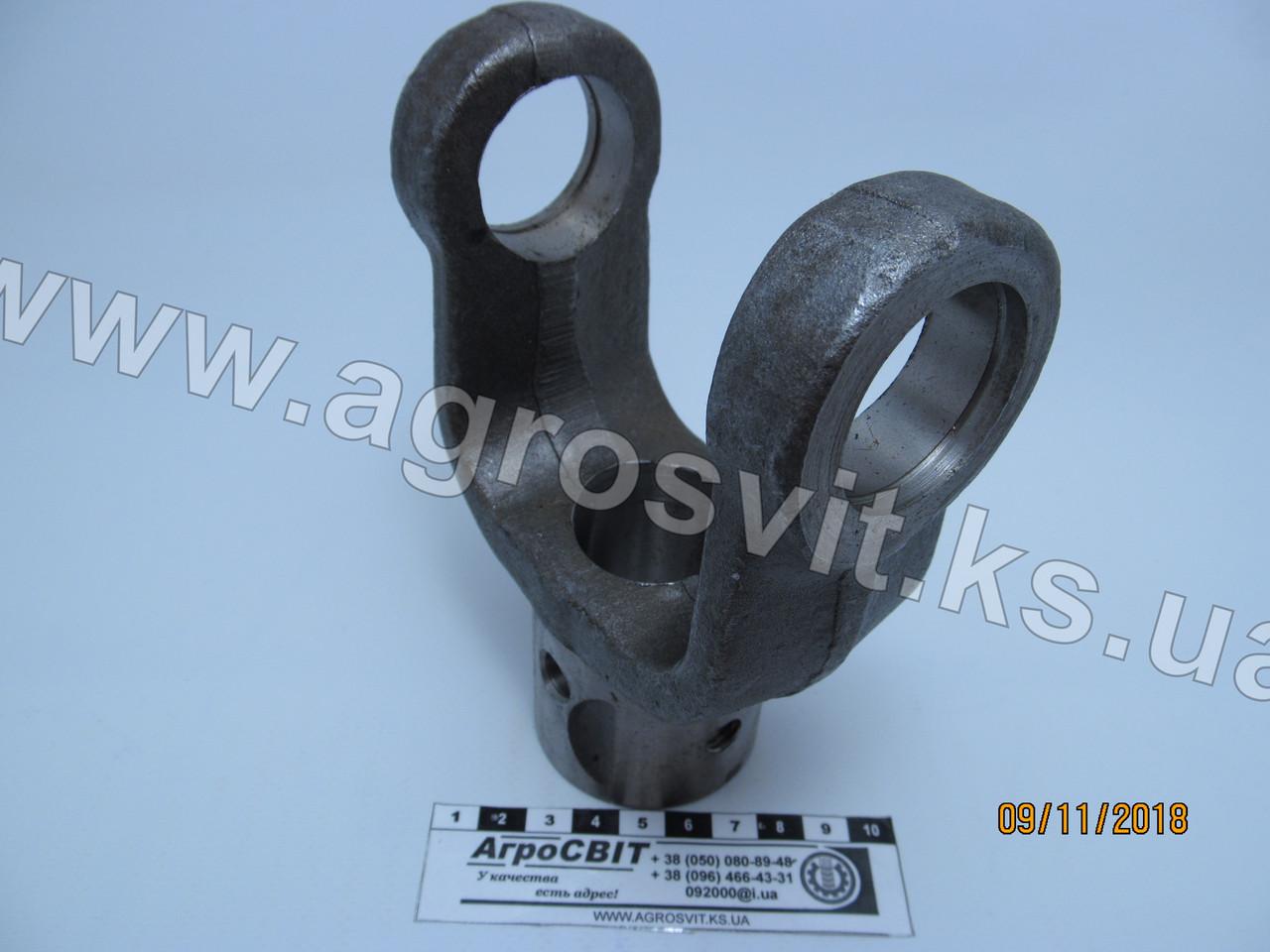 Вилка карданного вала 400 (под шпонку, диаметр 35 мм.), И-400