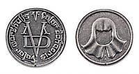 Кулон в виде монеты безликих из Игры престолов