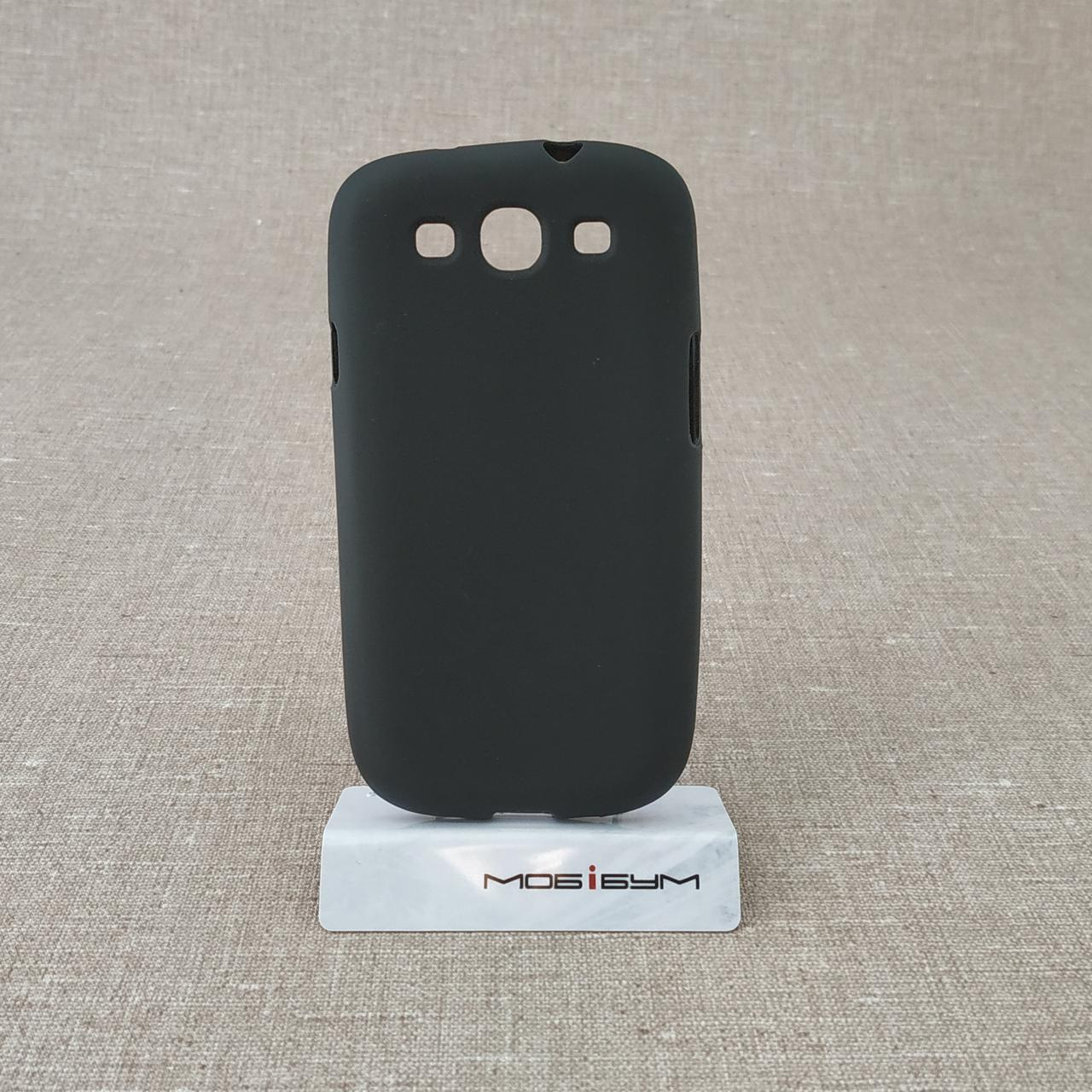 Чехол TPU Samsung i9300 black