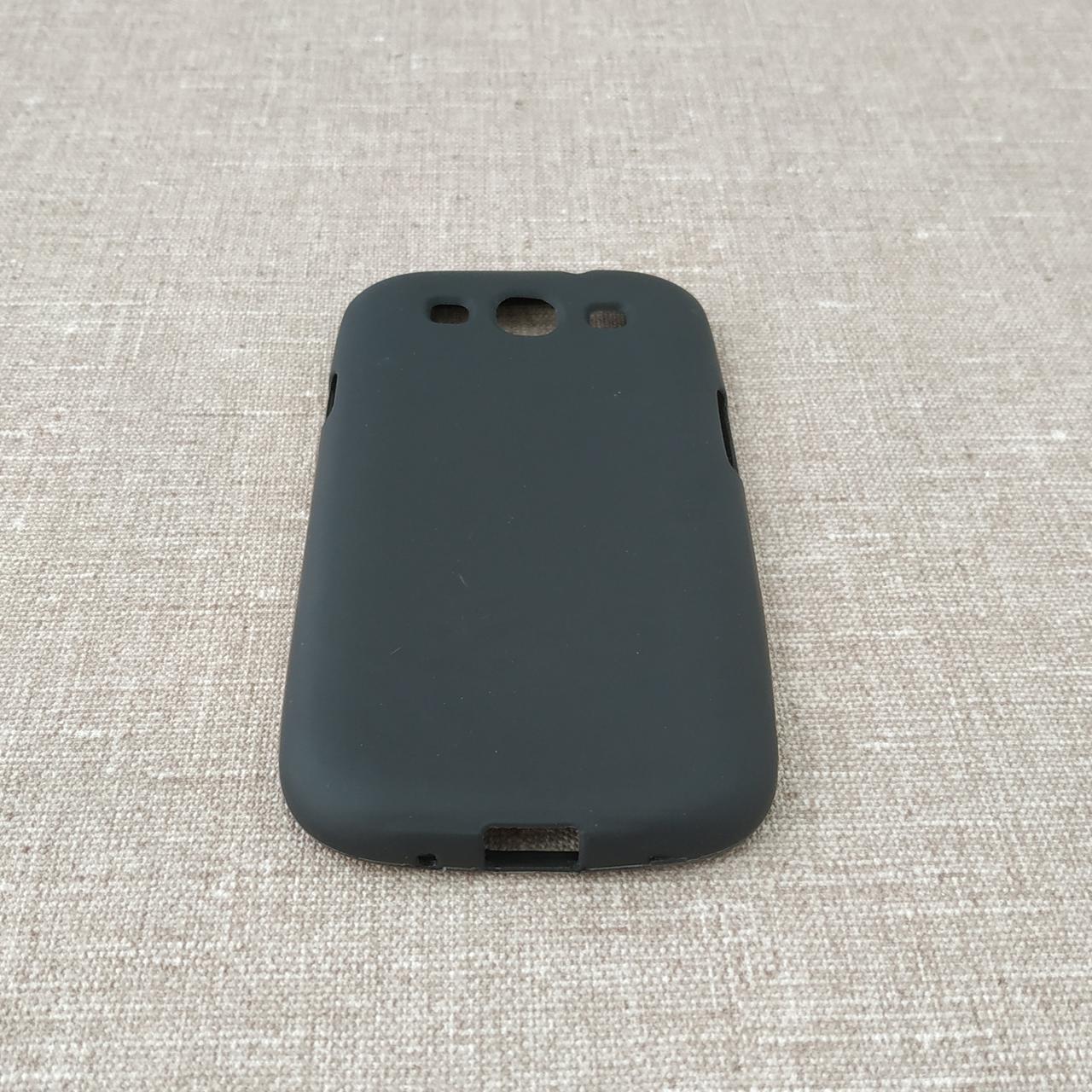 Чехлы для Galaxy S Series (остальные модели) TPU Samsung i9300 black Для телефона S3