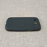 Чехол TPU Samsung i9300 black, фото 4