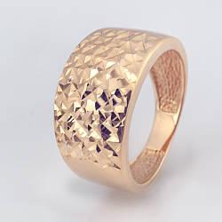Золотое кольцо с алмазной гранью. КП10211A