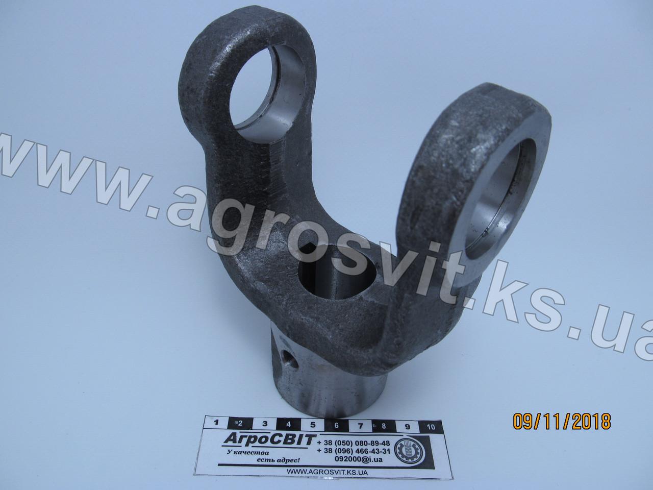Вилка карданного вала 400 (под шпонку, диаметр 30 мм.), Ж-400