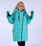 """Куртка-пальто зимнее для девочки """"Эмели"""", фото 7"""