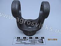 Вилка карданного вала 160 (под шпонку, диаметр 30 мм.), И-160 , фото 1