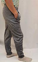 Штани спортивні чоловічі під манжет - зима, фото 2