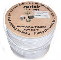 Коаксиальный кабель Sprint F690 биметалл 305м.