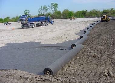 Геотекстиль Bonar Geosynthetics Tipptex BS25 (2,5 х 100 м), фото 2