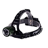 Налобный фонарь Cree T6 High Power Black (0322)