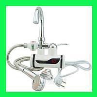 Проточный водонагреватель с LCD экраном Instant Electric Heating Water Faucet