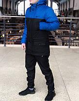 Мужская зимняя куртка (парка)  Nike (реплика), фото 2