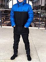 Мужская зимняя куртка (парка)  Nike (реплика), фото 3