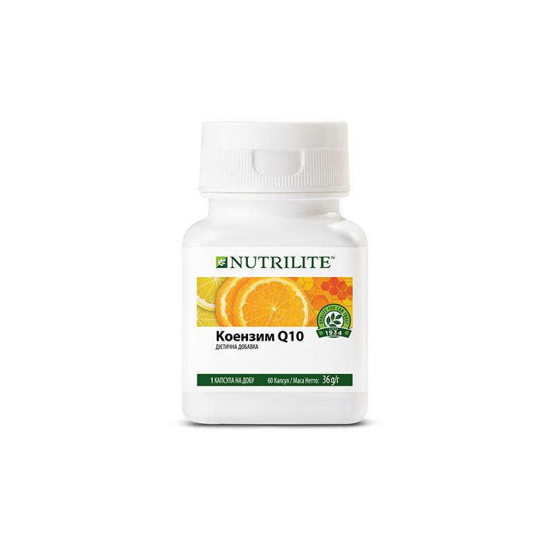 NUTRILITE Коэнзим Q10, иммунитет,энергия,антиоксидант (60 капсул). (0191)