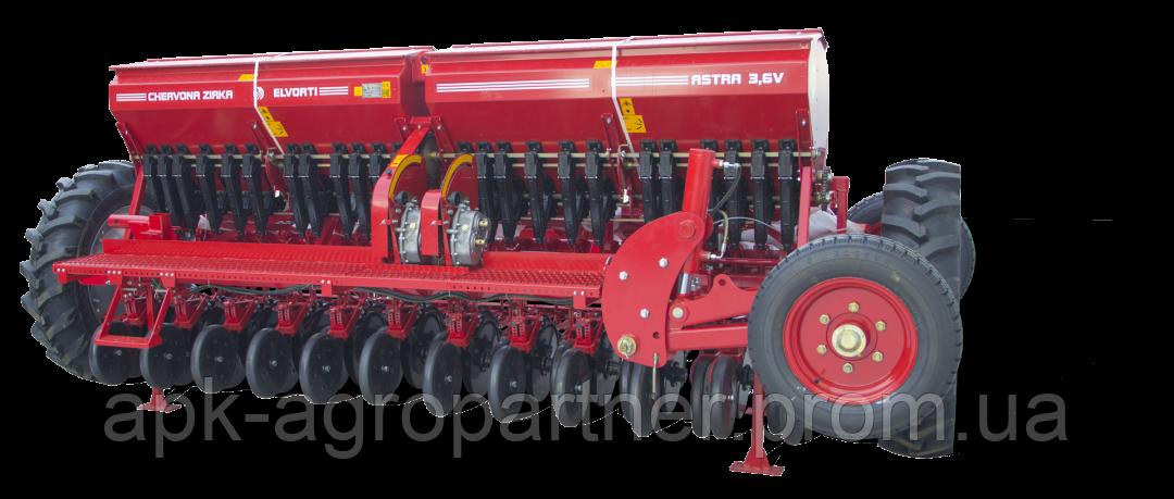 Сеялка зернотуковая ASTRA 3,6 B (V)-06 ELVORTI