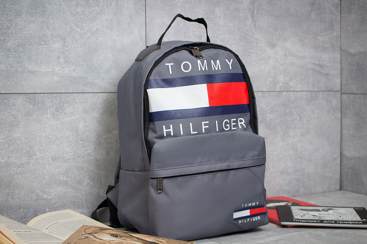 Рюкзак унисекс Tommy Hilfiger, серые (90152),  [ 1  ]