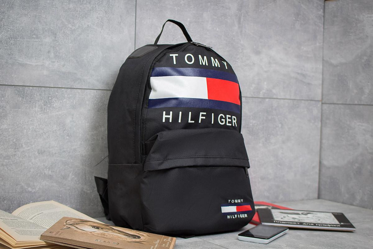 Рюкзак унисекс Tommy Hilfiger, черные (90153),  [ 1  ]