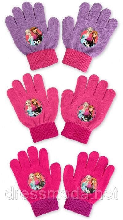 Перчатки для девочек Frozen 2-6 лет