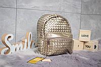Рюкзак женские  Valensiy, бронзовые (90163) размеры в наличии ► [ 1  ]
