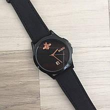 Наручные часы Gucci 1483 Black-Black кварцевые, часы Гуччи, реплика, отличное качество!