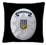 Сувенирная подушка подарочная Полиция, ДСНС, МВД и СБУ, фото 2