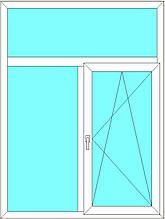 Вікно металопластикове 1.04*1.63