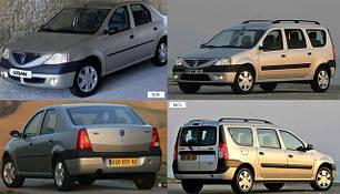 Кузовные запчасти для Dacia Logan 2007-09 MCV