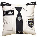 Сувенирная декоративная подушка Полиция, Медик, ДСНС, МВД и СБУ, фото 4